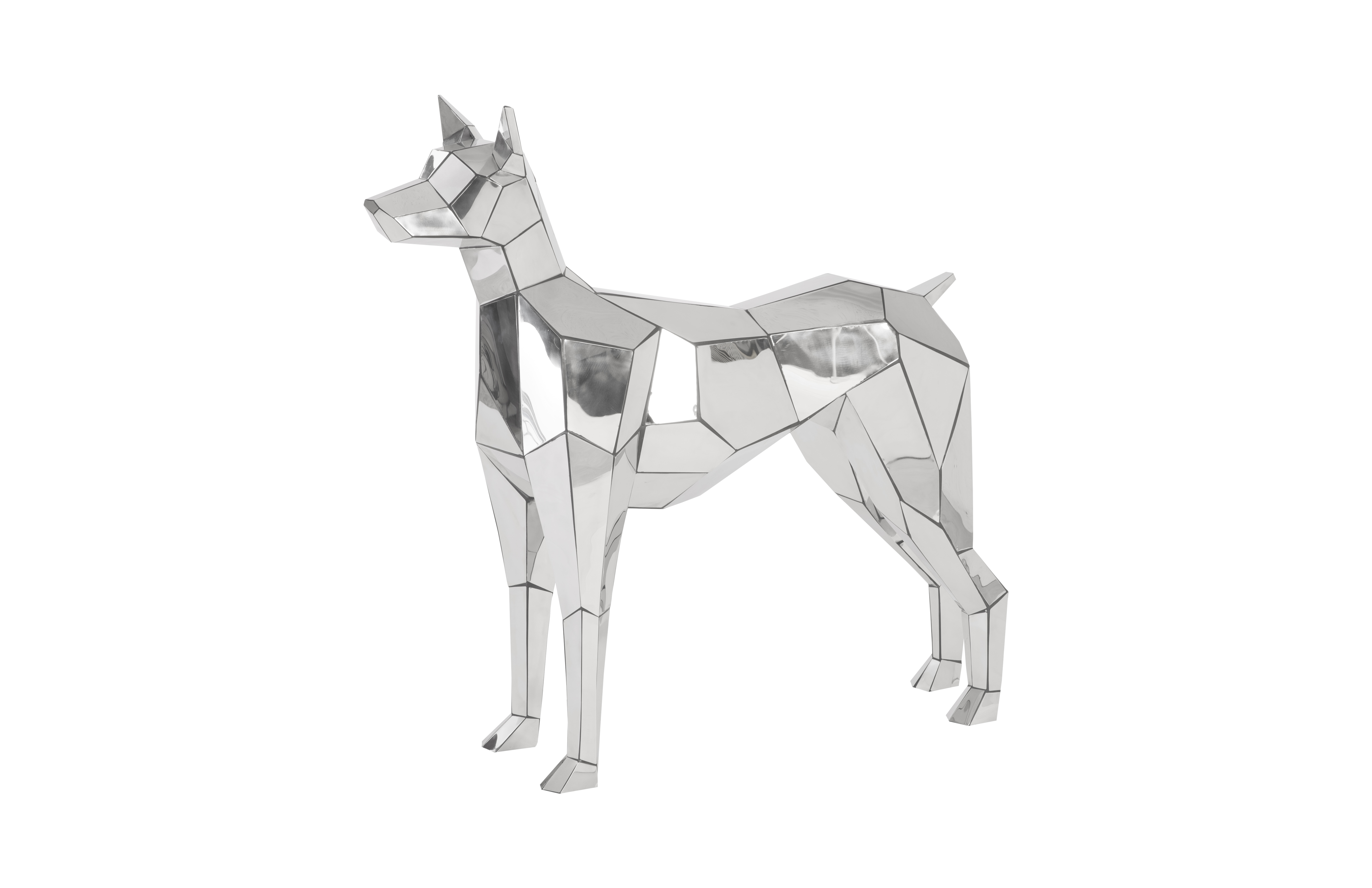 Phillips Collection Crazy Cut dog
