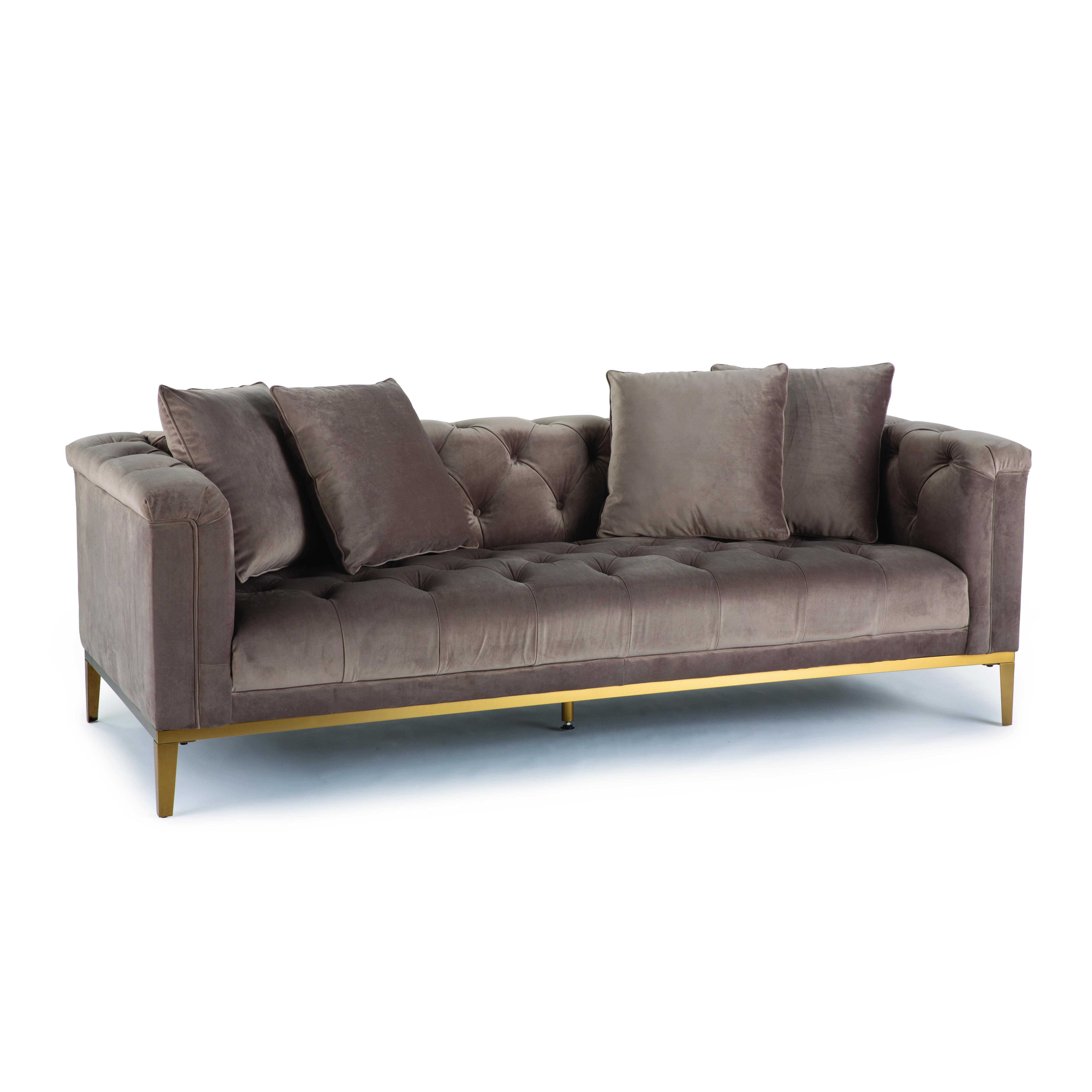 Regina Andrew Gatsby velvet sofa