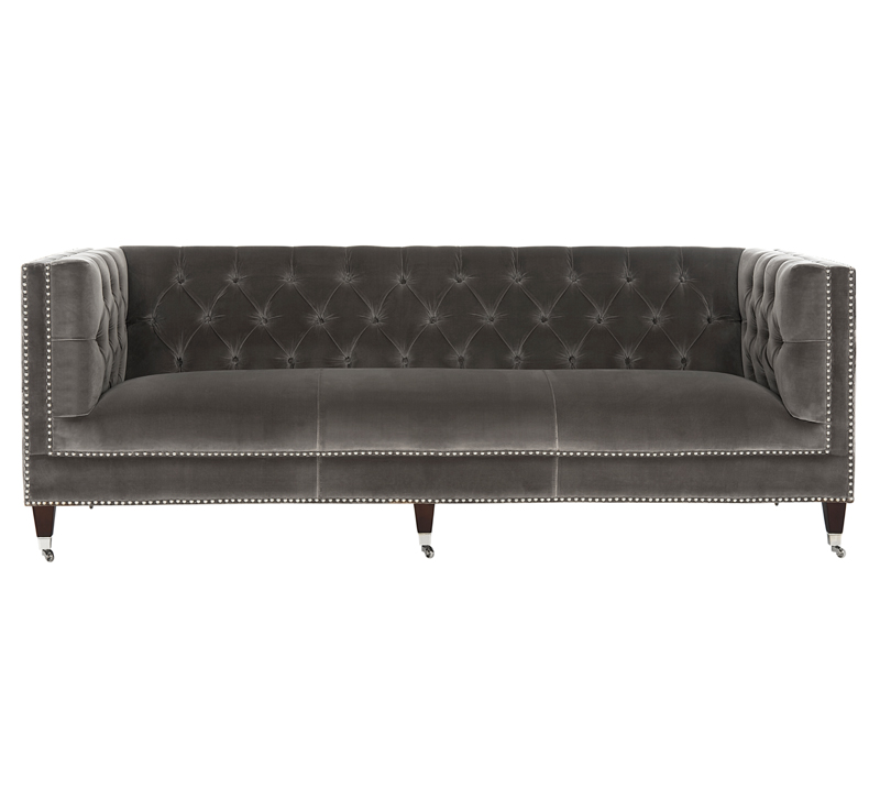 Safavieh-Miller-tufted-velvet-sofa