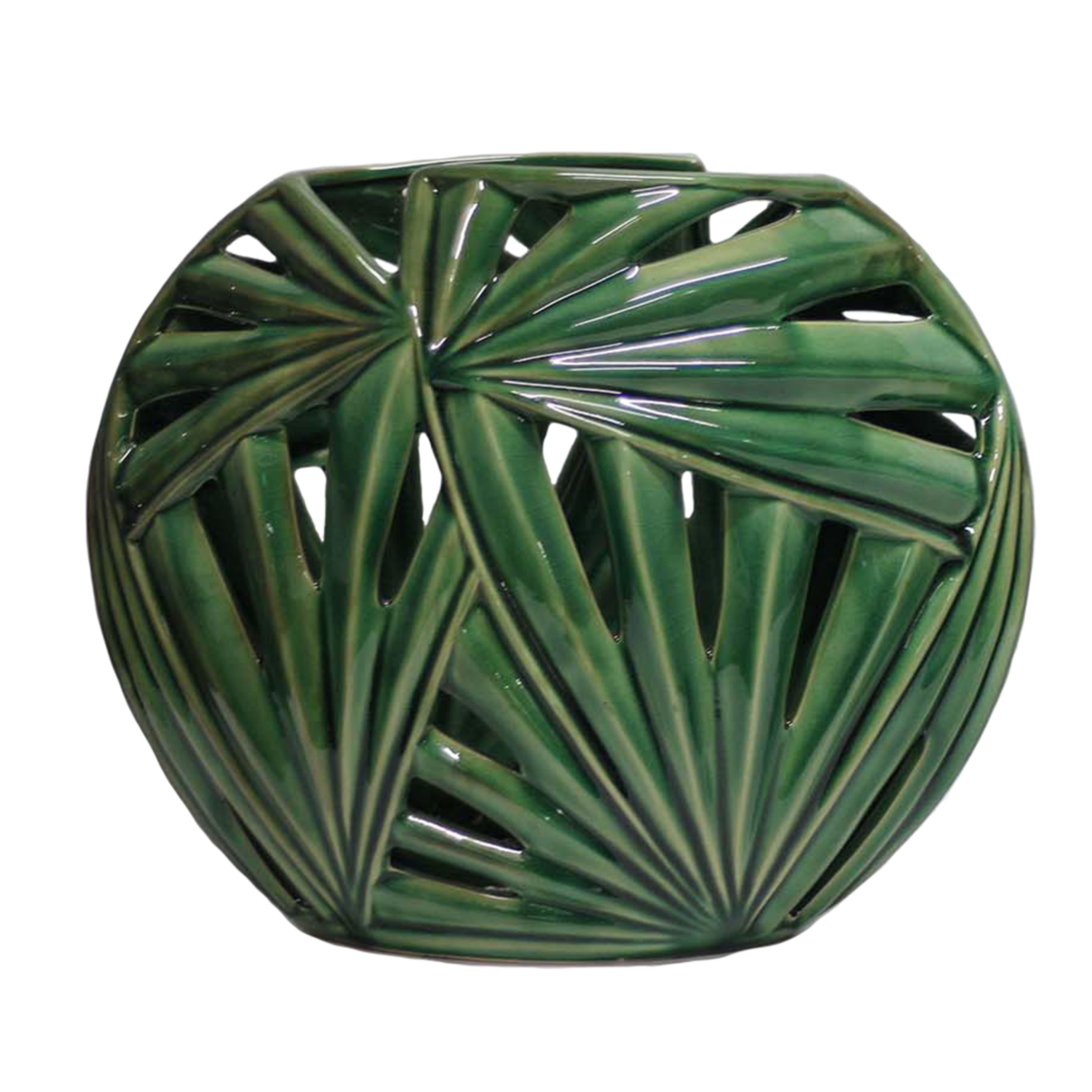 Sagebrook Home 13660-02 Palm Frond vase