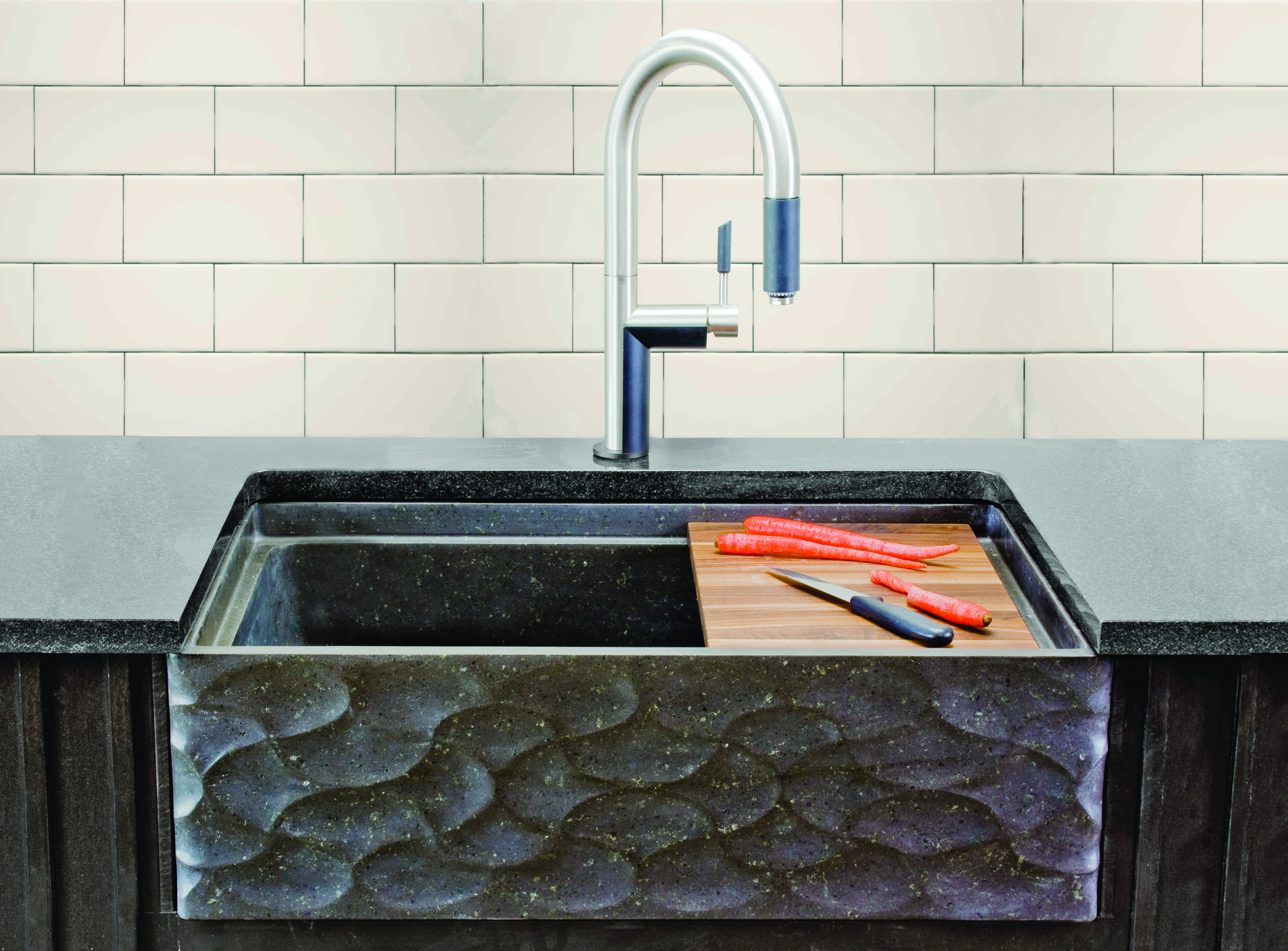 Stone Forest Wave Front sink