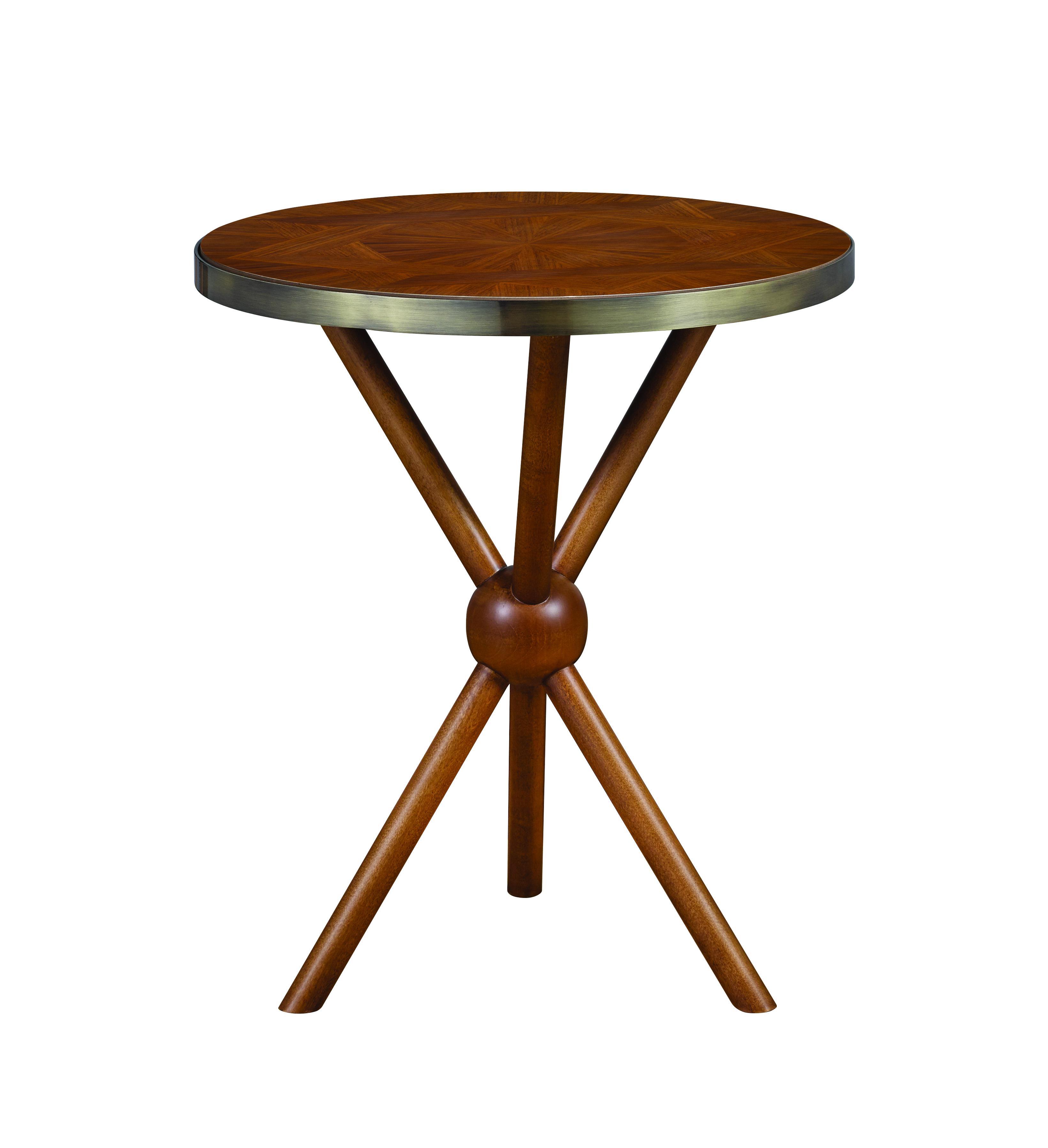 Twin Star Home Trompe L'oeil spot table