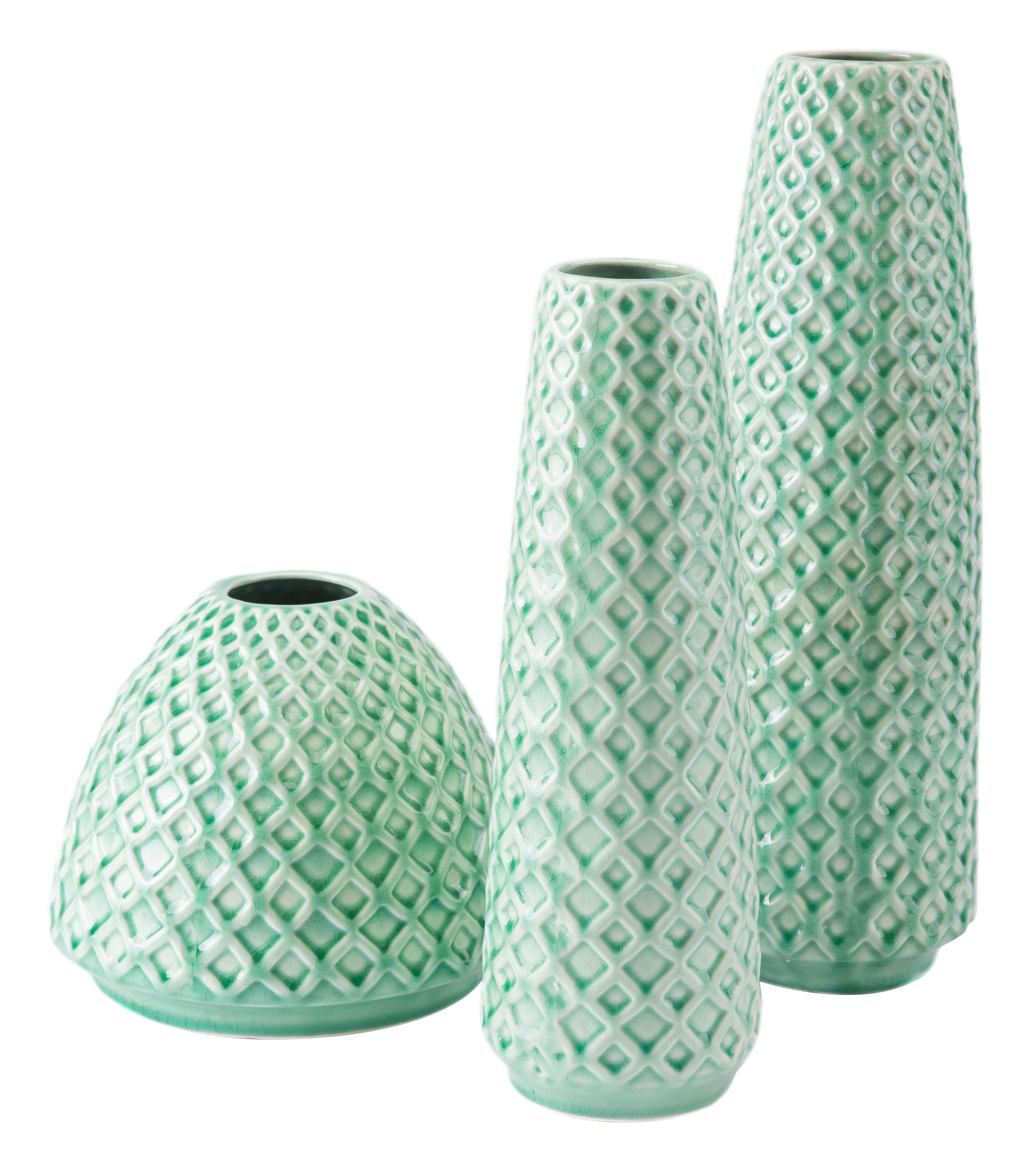 Zuo Rombo vases