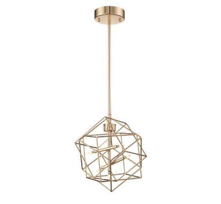 gold geometric pendant Lite Source