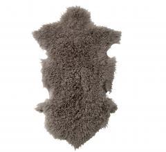 Bloomingville Dark Grey Mongolian Lamb Fur