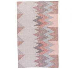 Desert indoor/outdoor area rug in coral from Jaipur Living