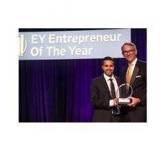 Satya Tiwari Surya Entrepreneur of the year