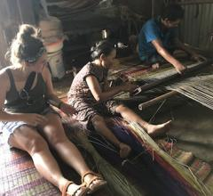 Vietnam mat weaving