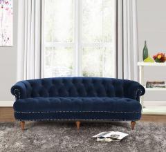 Velvet-couches