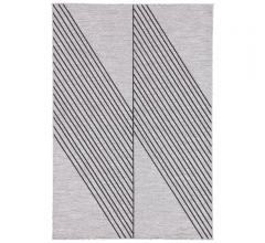 Decora area rug with a gray and black colorway by Nikki Chu for Jaipur Living