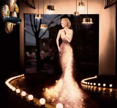 Messe Frankfurt Light + Building light up dress