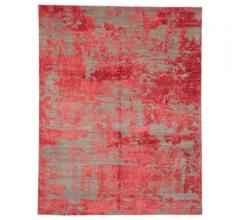 Project Error By Kavi Area Rug in an abstract design eiyh reds, pinks and grays from Jaipur Living