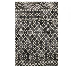 Artesia Charcoal/Gray Area Rug with a tribal pattern from Loloi Rugs