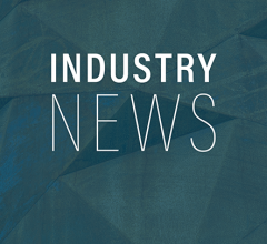 Industry news logo on a green background