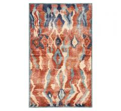 Gallant abstract-styled Area Rug in orange, blue, navy and beige from Jaipur Living
