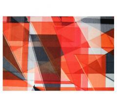 designworks Freestyle Red 3D carpet