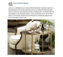 Fine Furniture Design contest post