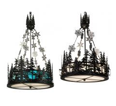 Meyda Alpine pendants