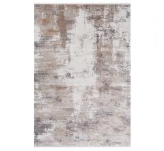 Solar abstract area rug in gray, white and taupe from Surya