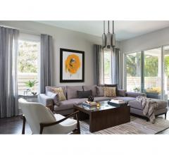 John McClain living room