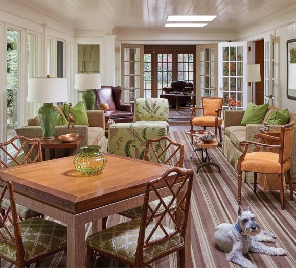 Leigh Jones sunroom