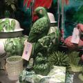 A&B Home green parrot