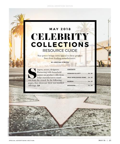 Celebrity Collections Lighting & Decor