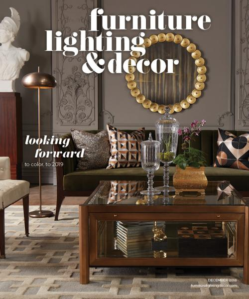 Cover of Furniture, Lighting & Decor's December issue