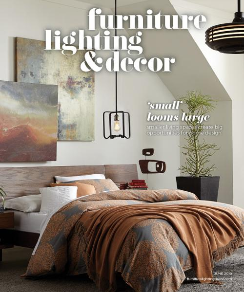 Furniture, Lighting & Decor June 2019 small space living