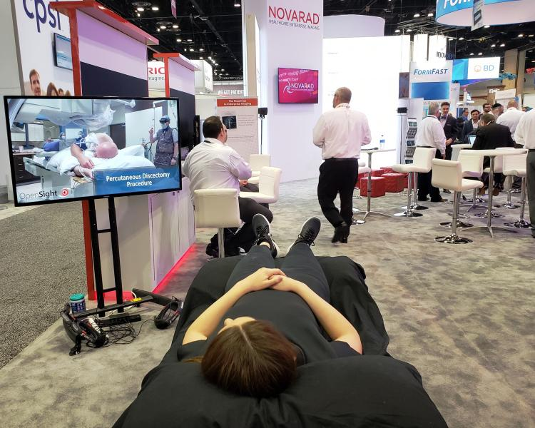 Novarad promotes data gathering, storage and exchange across the enterprise at HIMSS19