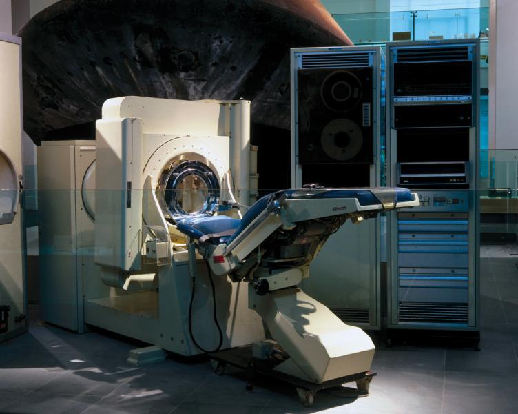 The original Houndsfield CT scanner