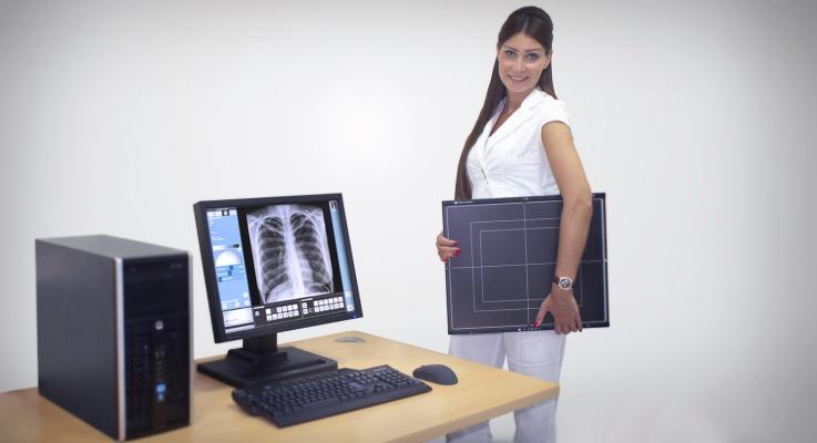 Visaris Americas, digital X-ray imaging, RSNA 2015, Vision Family, DR systems
