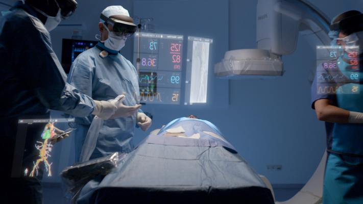 Philips and Microsoft Showcase Augmented Reality for Image-Guided Minimally Invasive Therapies
