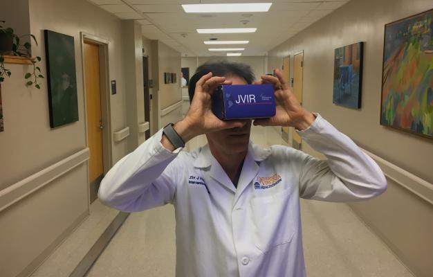 Radiologist Uses Virtual Reality as Interventional Radiology Teaching Tool