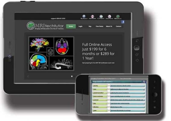 ImagingTutor.com, JCAHO safety requirements, online resources, testing