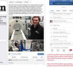 ITN reached 90,000 unique Facebook users with content during the week of the visit to Central DuPage Hospital