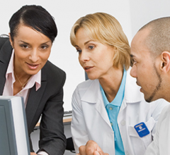 FlexForce Coach performance consulting and FlexForce Tech staffing solutions, which are designed to educate and improve the workflow of radiologic and laboratory technologists