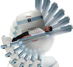 Weight bearing orthopedic MRI scanner, the G-scan by Esoate.