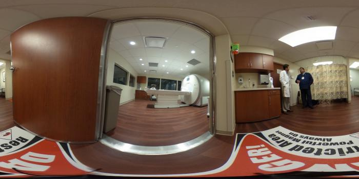 360 Degree View of Baylor Heart Hospital's Dedicated Cardiac MRI System