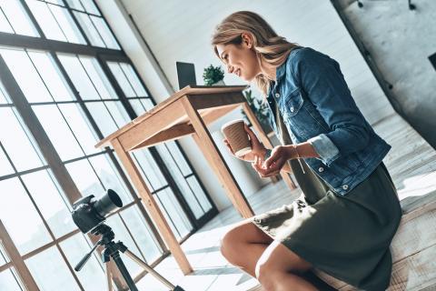 Social influencers build brands