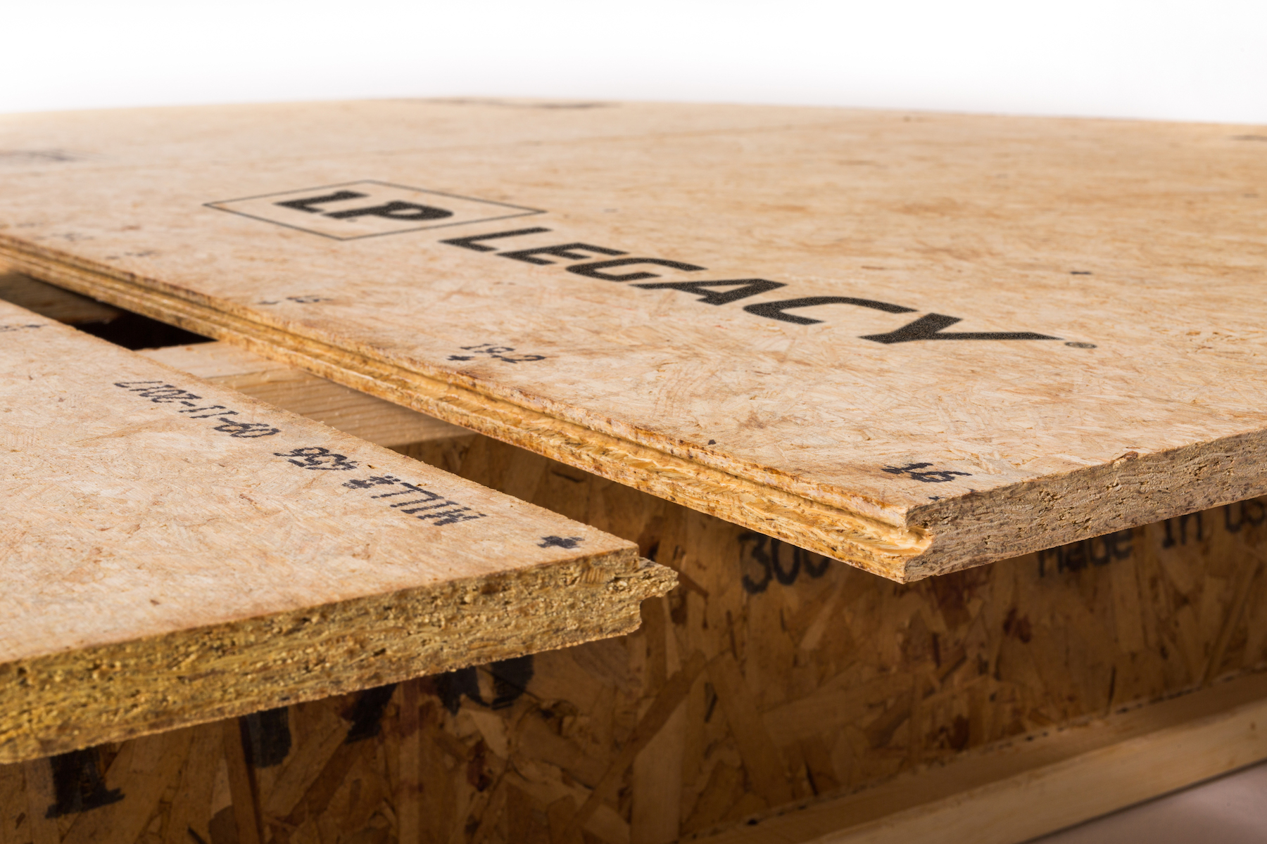 Using a premium sub-floor such as LP Legacy® as part of a well-planned system can help builders meet buyer expectations for floor performance.