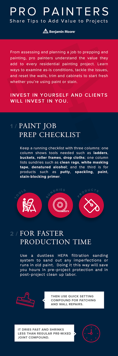 Insider Tips for the Experienced Painter | Professional Builder