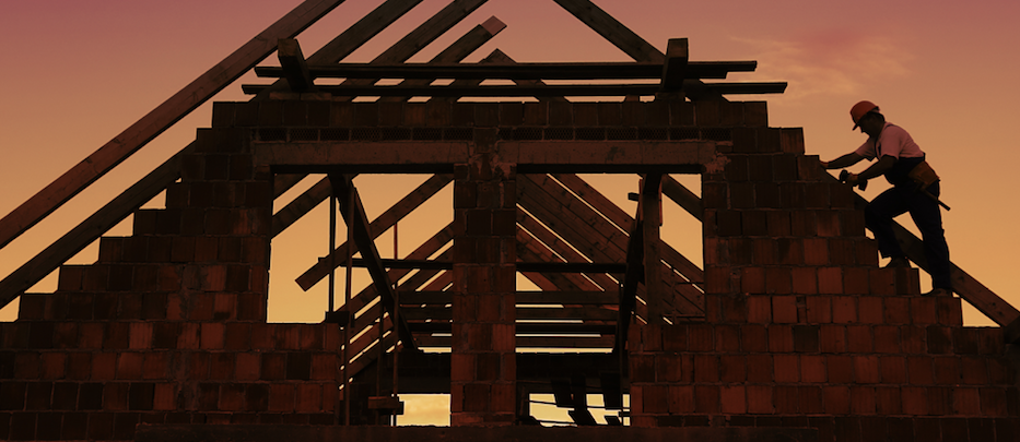 trade contractor onboarding_success with subcontractors_home builder at work_roof framing