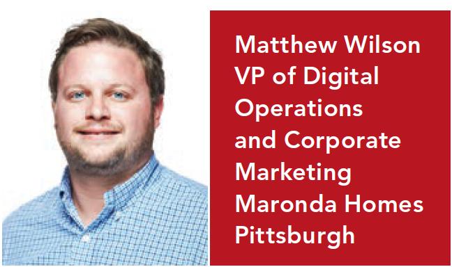 Matt Wilson of Maronda Homes pushes online sales to new heights