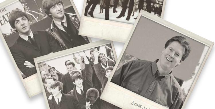 Scott Sedam_staying relevant_old photos of Sedam and Beatles
