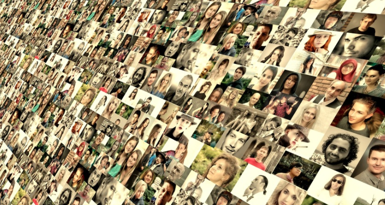 diversity-photo montage of faces from all nations-Max Pixel CC0