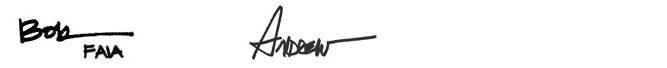 LOA signature