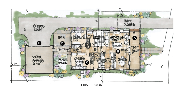 House review-Canton Park-Evans Group-plan first floor