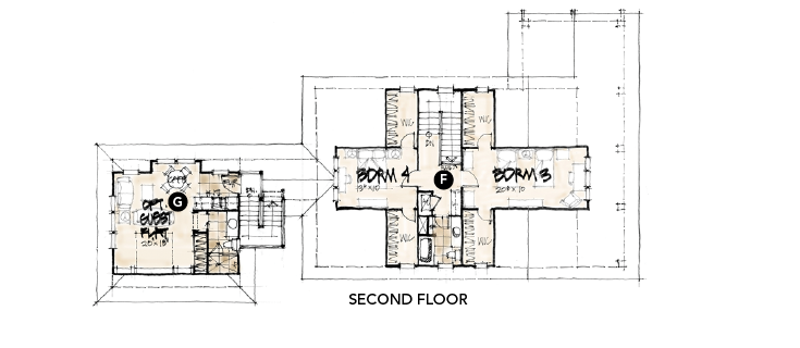 House review-Canton Park-Evans Group-plan second floor