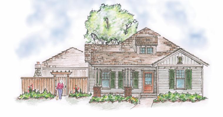 House review-Camelot Plan 1-Garnett-elevation